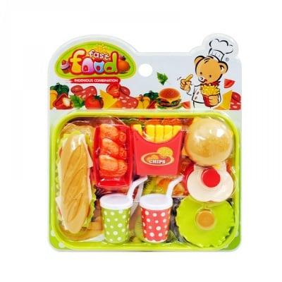 Комплект хранителни продукти с табла