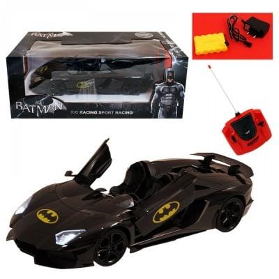Спортна кола BATMAN с РК 1:12 - - 46 см. - 21 см. - 18 см.