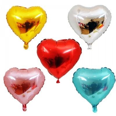 Балон сърце /фолио/