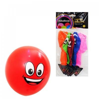 Светещи LED парти балони - Усмивка, COSMOPOLIS