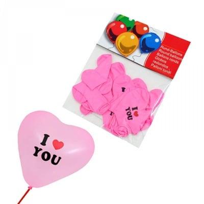 """Балони - Сърце """"I LOVE YOU"""""""