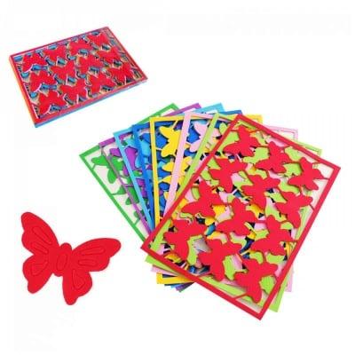 Стикери за декорация - Пеперуда  /EVA материал/