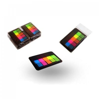 Лепящи цветни листчета в ПВЦ