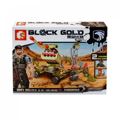 "Конструктор ""BLOCK GOLD"" /105 елемента/"