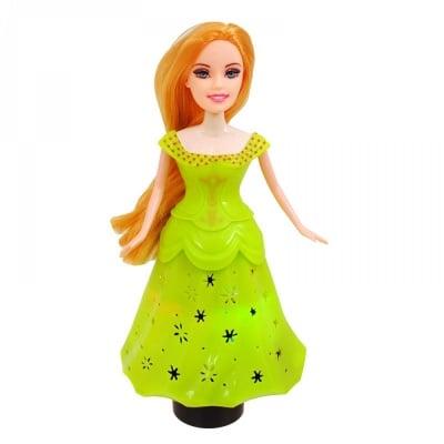 Принцеса с чупещи се ръце /зелен/
