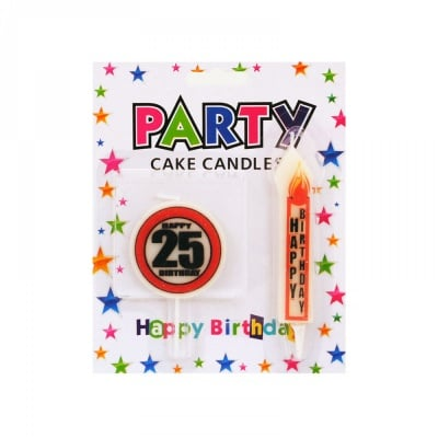 """Юбилейни свещи """"HAPPY BIRTHDAY"""""""