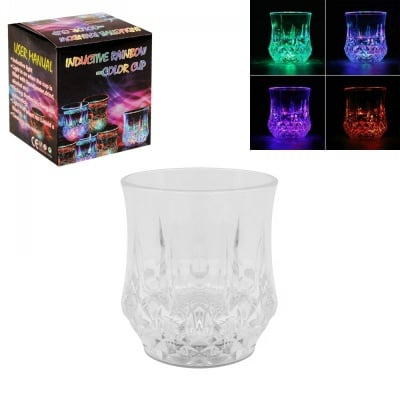 Индукционна светеща чаша /пластмаса/