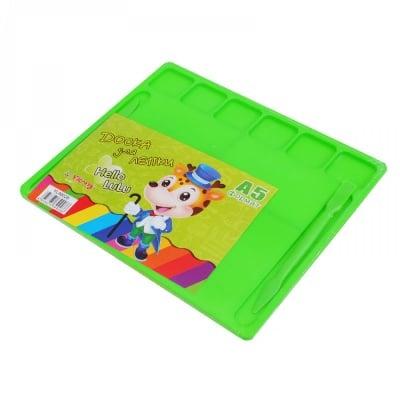 Дъска за пластелин А5 /зелен/
