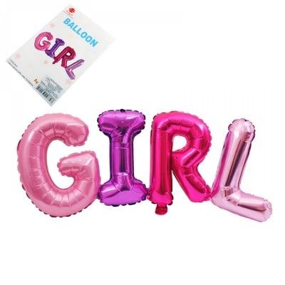 Балон GIRL /фолио/