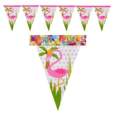 """Парти гирлянд знаменца """"Фламинго"""""""