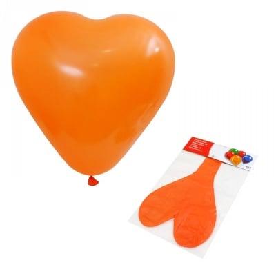 Балон - Гигант Сърце /оранжев/