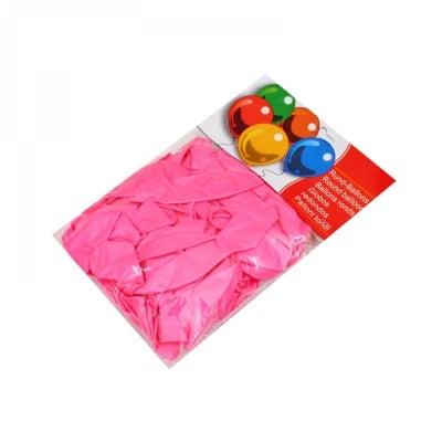 Балони - Металик /розов/