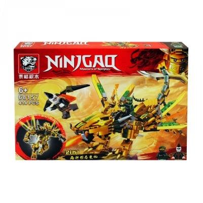 Конструктор NINJAQ 2 в 1 /414 елемента/