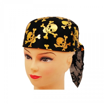 Пиратска шапка /златист/