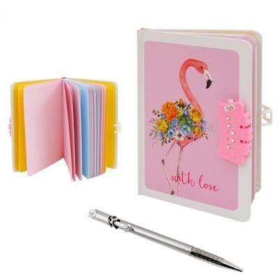 Таен дневник с шифър и химикал с клипс