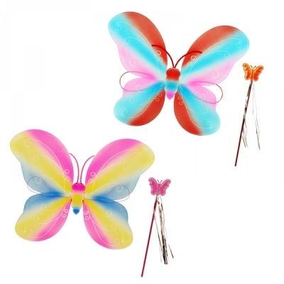 Парти крила с пръчица Пеперуда