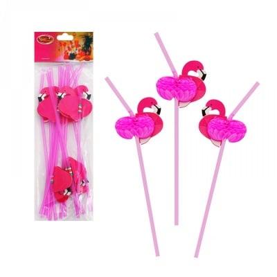 Коктейлни сламки Фламинго