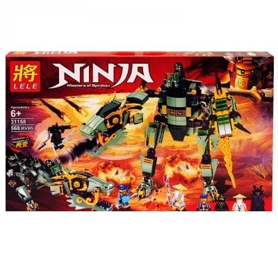 """Конструктор """"NINJА"""" /568 елемента/"""