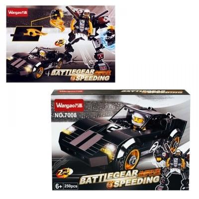 """Конструктор - Трансформер 2 в 1 """"BATTLEGEAR SPEEDING"""""""