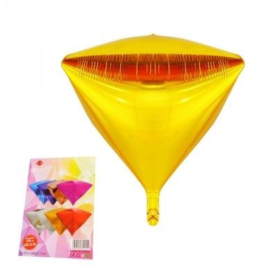 """Балони """"Пирамида"""" - фолио /златист/"""