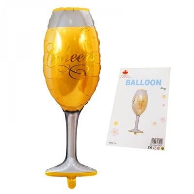 Балони Чаша за шампанско /фолио/