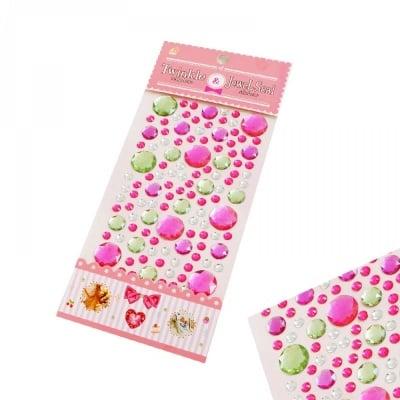 Камъчета за декорация /розов/