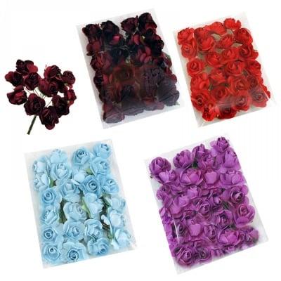 Цвете за декорация, сатен