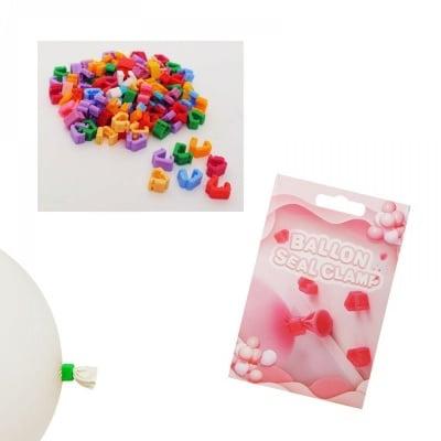 Клипс за балони /100 броя/