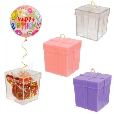 Кутийка - тежест за балони с хелий