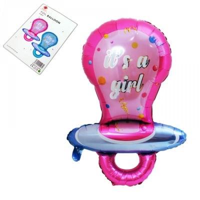 Балон - Биберон Girl /розов/