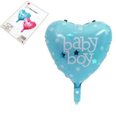 """Балон - Сърце """"Boy"""" /син/"""