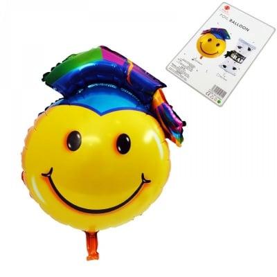 Балон - Емотикон Дипломиране /фолио/