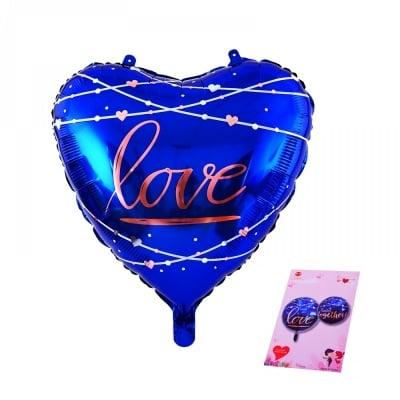 Балон сърце LOVE /фолио/