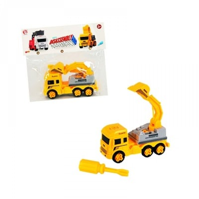 Камион - Багер /с инструмент за разглобяване/