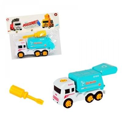 Камион за отпадъци /с инструмент за разглобяване/