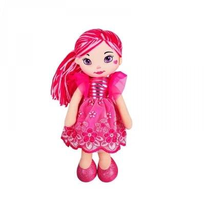 Кукла - текстил /циклама/