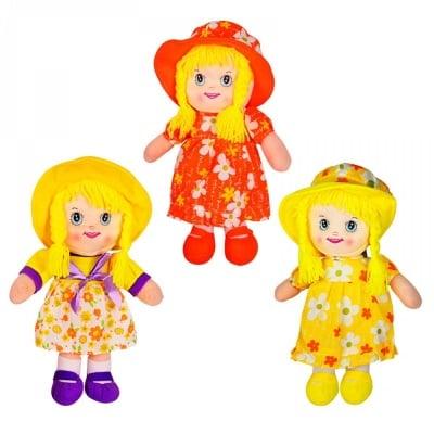 Кукла с шапка /текстил/ - 35 см