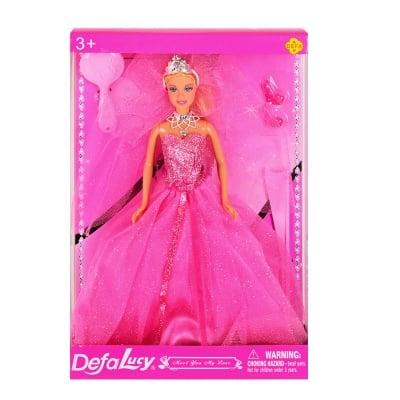 """Кукла Defa """"Булка"""" на стокйка /розов/"""