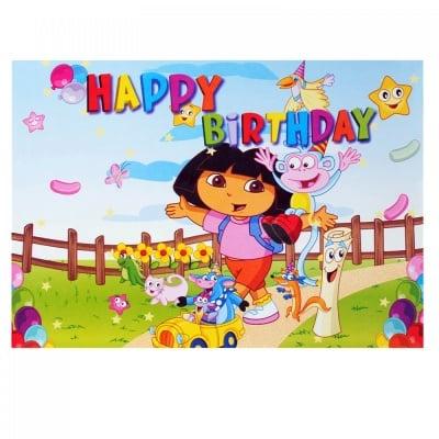 Подложка за маса за рожден ден, COSMOPOLIS