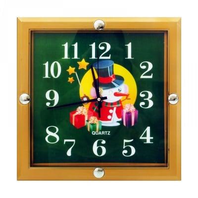 Стенен часовник /зелен/