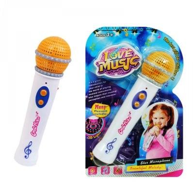 Музикална играчка Микрофон