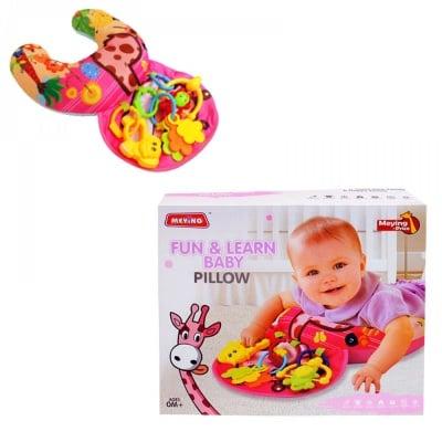 Възглавничка с дрънкалки /за бебе/
