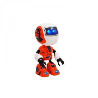 Робот - метален /оранжев/