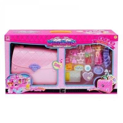Комплект Чанта - Къща с кукла и аксесоари