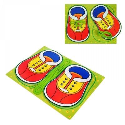 Образователна игра Вържи си сам обувките