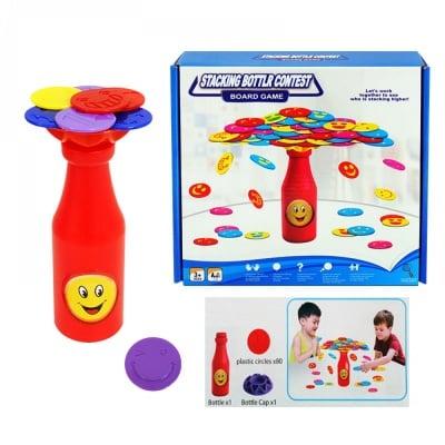 Занимателна игра Балансираща бутилка