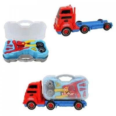 Камион за разглобяване /червен/