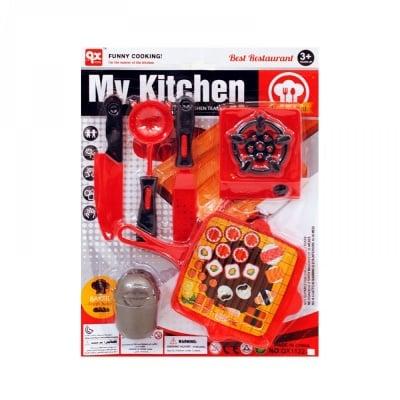 Комплект кухненски прибори с котлонче