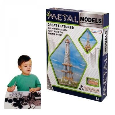 Метален конструктор Айфелова кула /407 елемента/