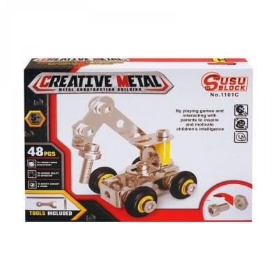 Метален конструктор /48 елемента/
